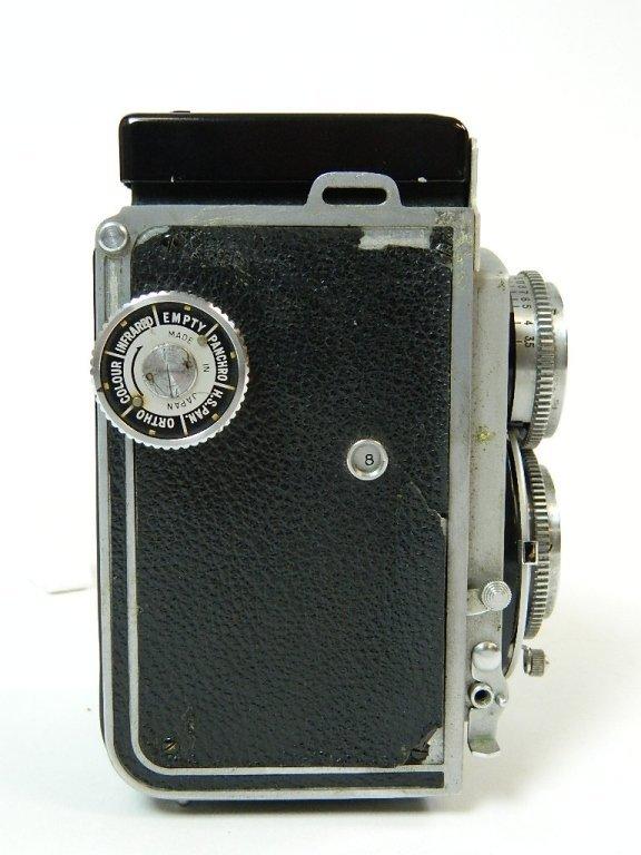 1952 Mamiyaflex II Camera w/ Sekor F3.5 Lens - 5