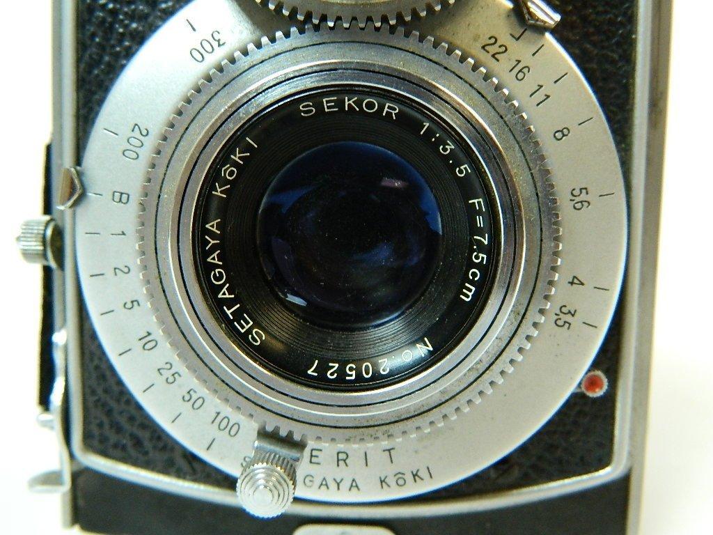 1952 Mamiyaflex II Camera w/ Sekor F3.5 Lens - 7