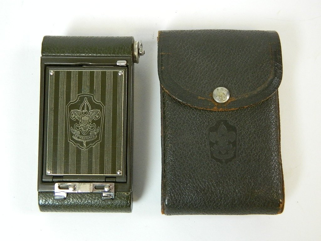 Olive Colored Boy Scout Kodak Vest Pocket Camera