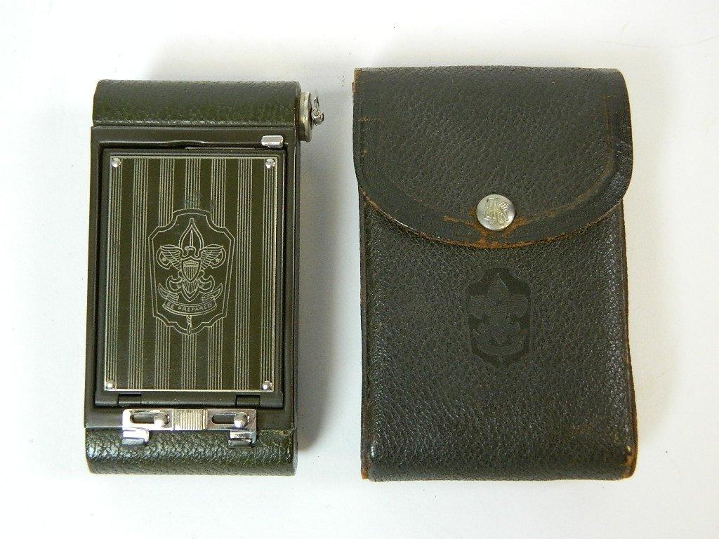 Olive Colored Boy Scout Kodak Vest Pocket Camera