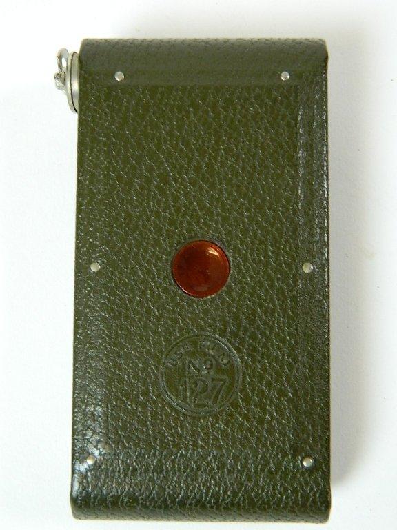Olive Colored Boy Scout Kodak Vest Pocket Camera - 3