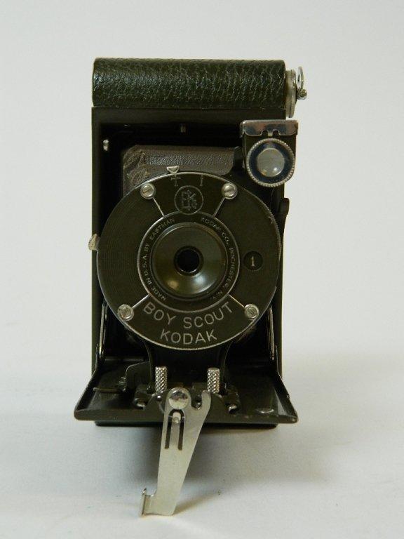 Olive Colored Boy Scout Kodak Vest Pocket Camera - 5