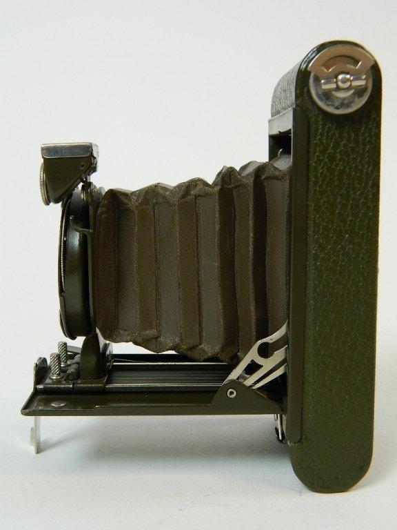 Olive Colored Boy Scout Kodak Vest Pocket Camera - 6