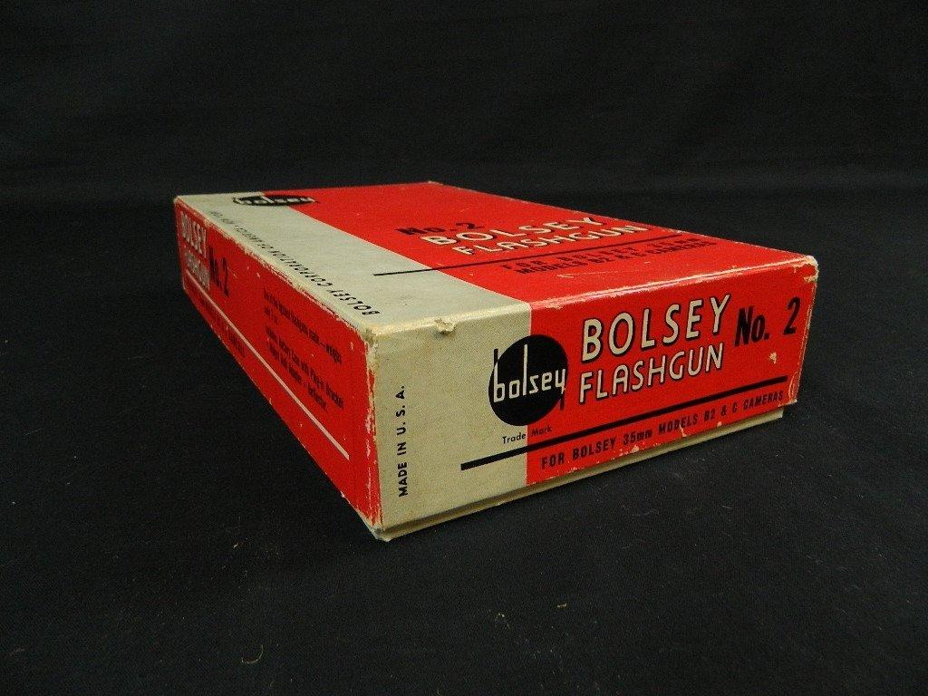 Bolsey Camera Model B-2 with Flash Gun - 10