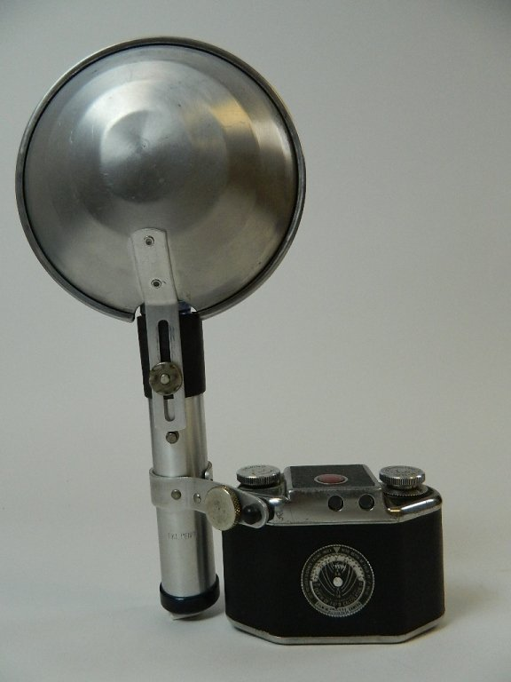 Bolsey Camera Model B-2 with Flash Gun - 2