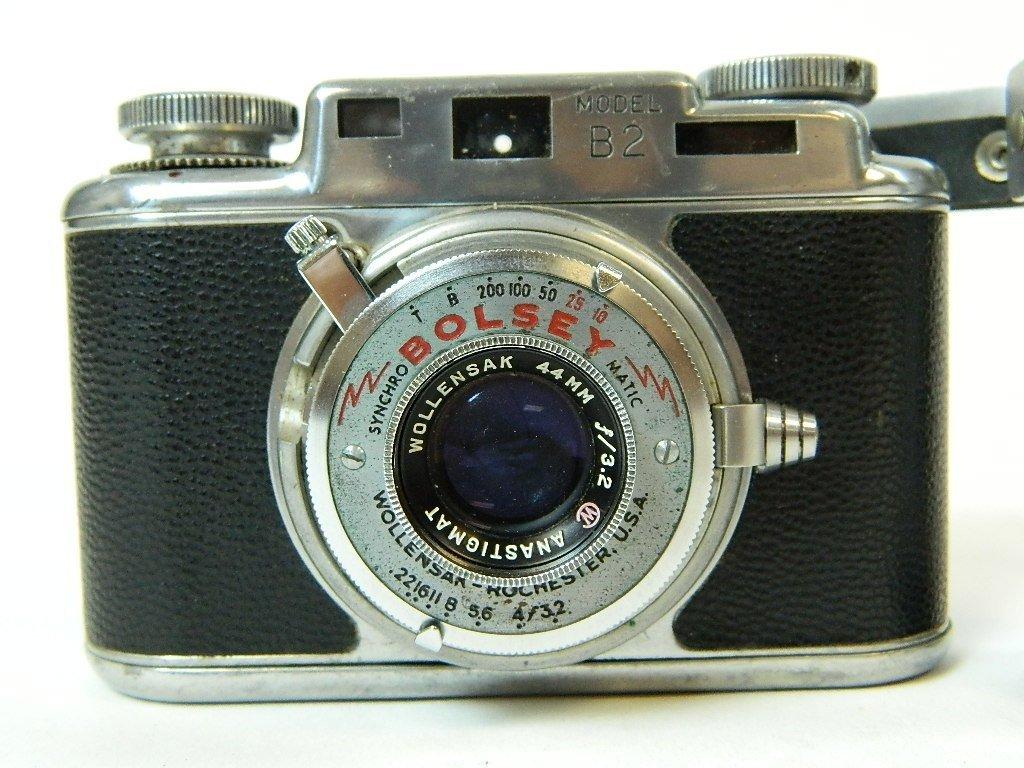 Bolsey Camera Model B-2 with Flash Gun - 3