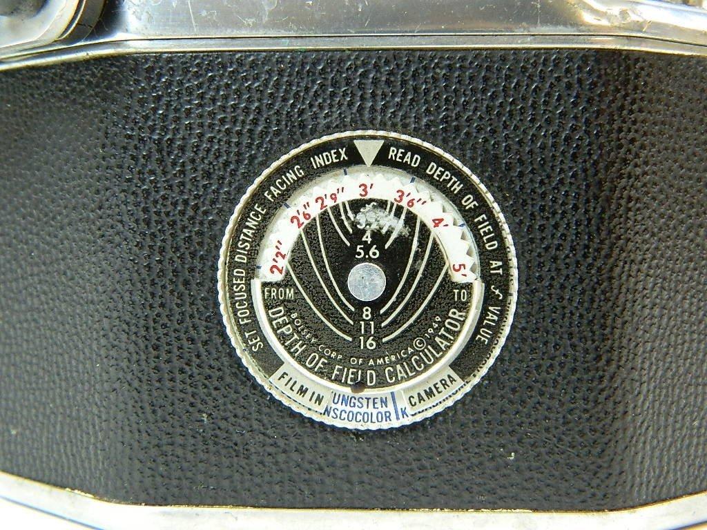 Bolsey Camera Model B-2 with Flash Gun - 4