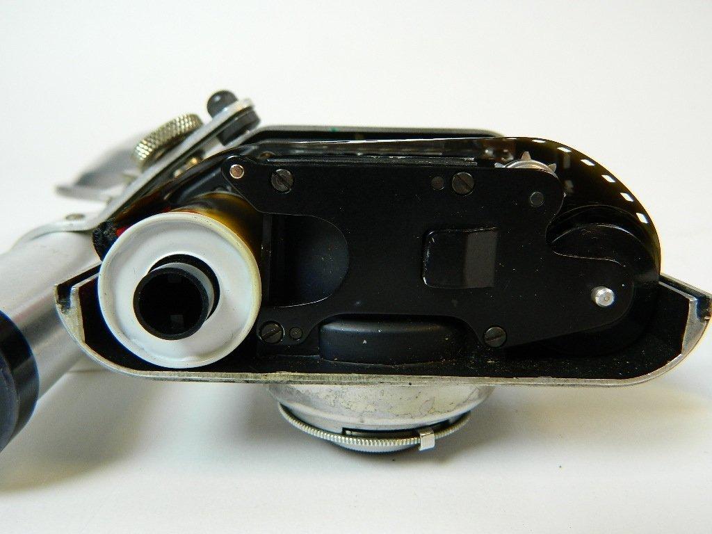 Bolsey Camera Model B-2 with Flash Gun - 7