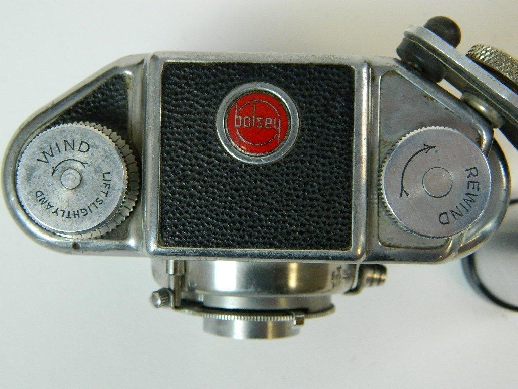 Bolsey Camera Model B-2 with Flash Gun - 8
