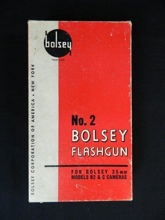 Bolsey Camera Model B-2 with Flash Gun - 9