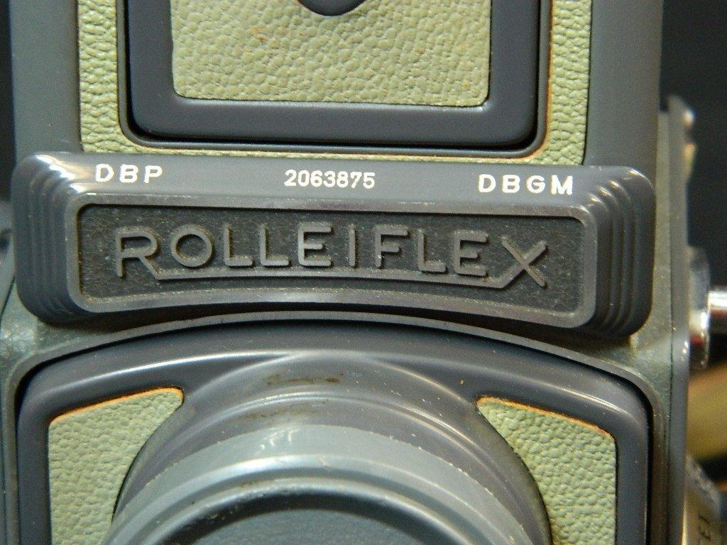Rolleiflex 4x4 Gray Baby Camera w/ Case+ lenses Grey - 5