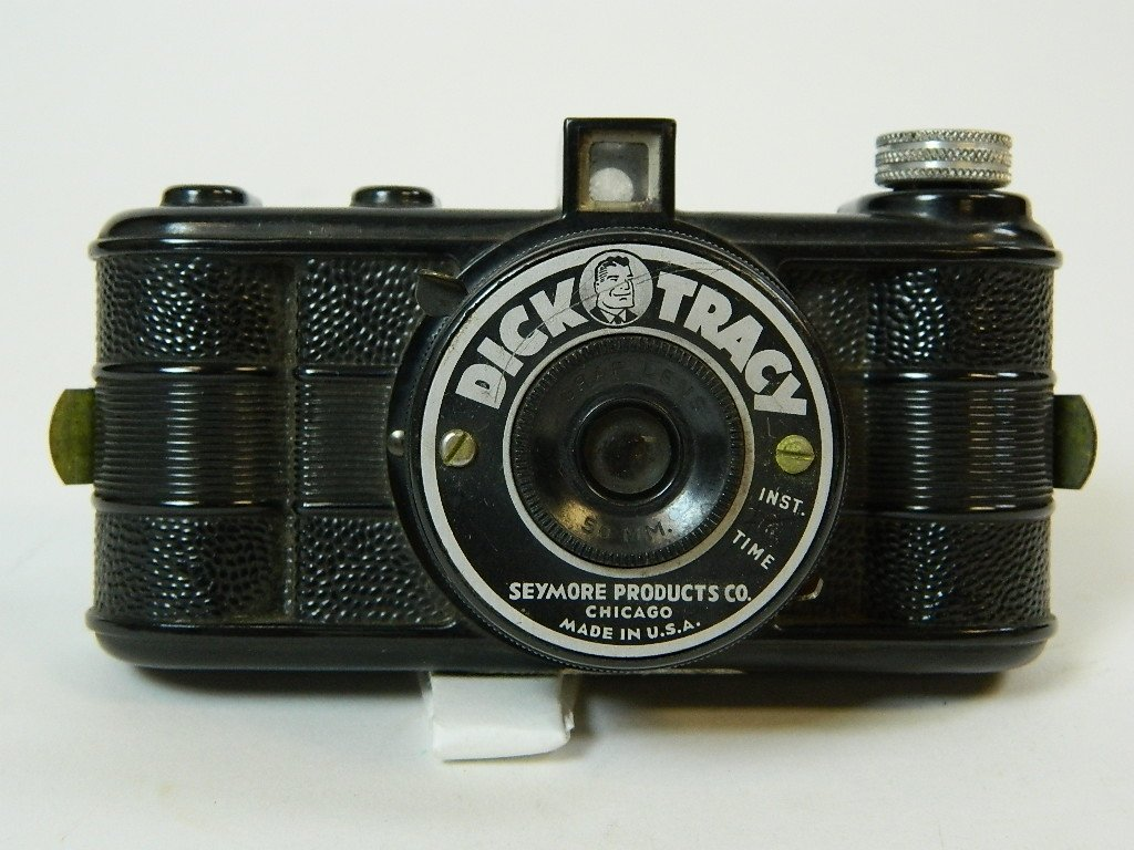 Seymore Products Black Dick Tracy Camera