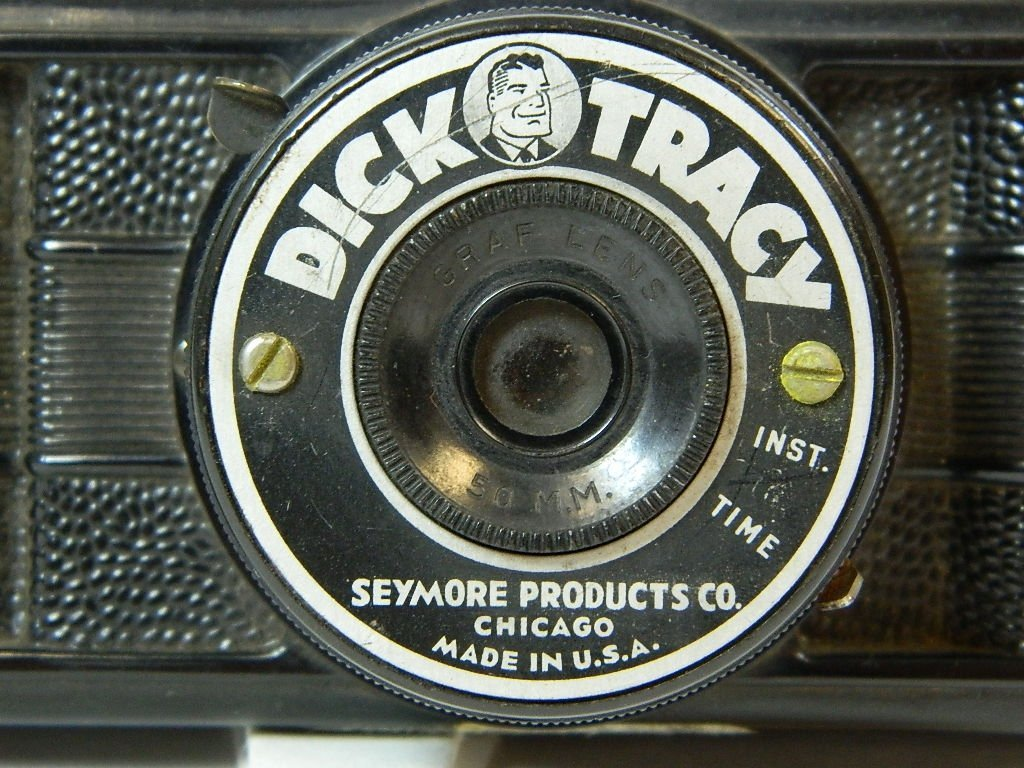 Seymore Products Black Dick Tracy Camera - 2