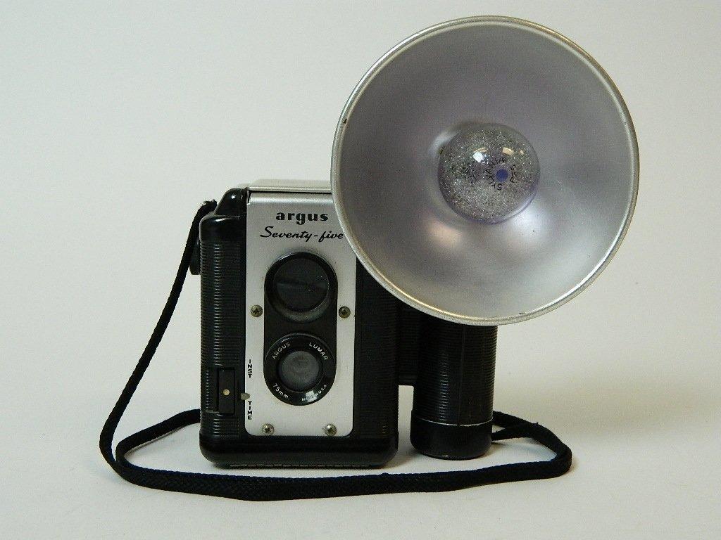 The Argus Seventy-Five 75 mm Lens Camera w/ Flash
