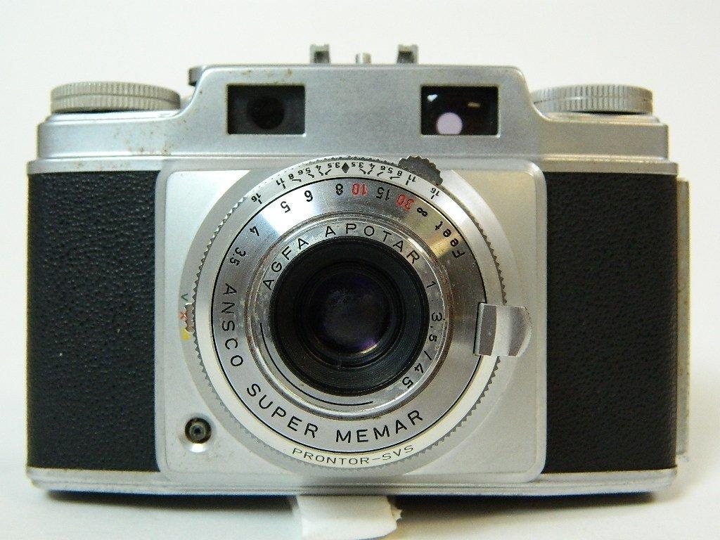 Vintage Ansco AGFA Apotar Super Memar Camera
