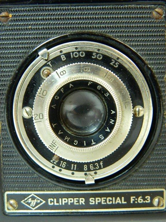 AGFA Ansco Clipper Special F: 6.3 Camera - 2