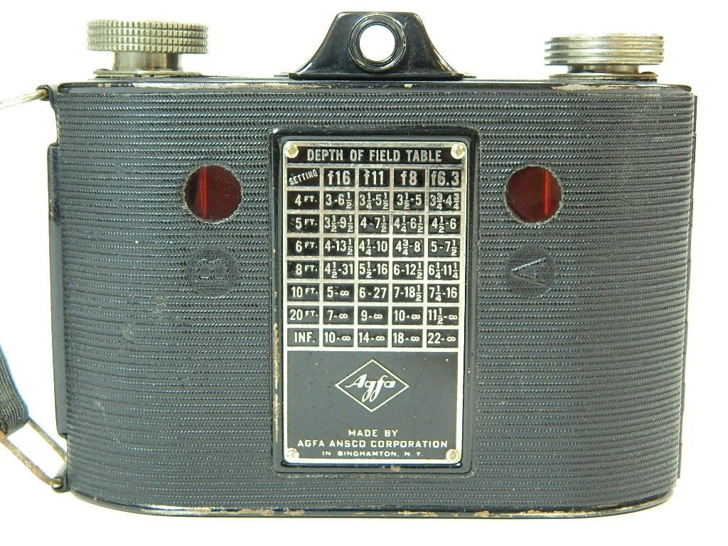 AGFA Ansco Clipper Special F: 6.3 Camera - 4