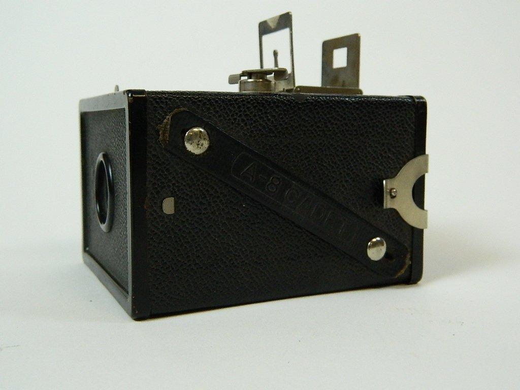 Vintage Black AGFA ANSCO Cadet A-8 Camera