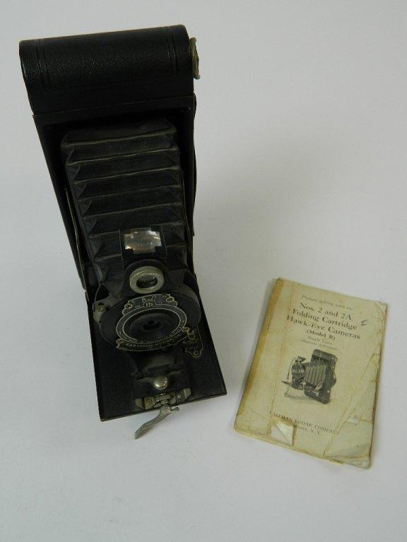 Eastman Kodak Co No 2A Folding Cartridge Hawk-eye