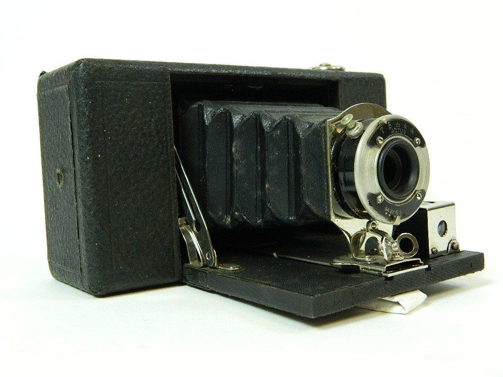 Vintage Ansco No. 2 Folding Buster Brown Camera