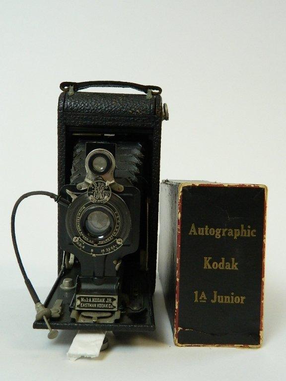 Vintage Eastman Kodak Autographic 1A Junior Camera