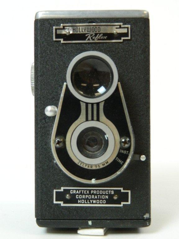 Craftex Hollywood Reflex Camera w/ 75mm Lens & Box