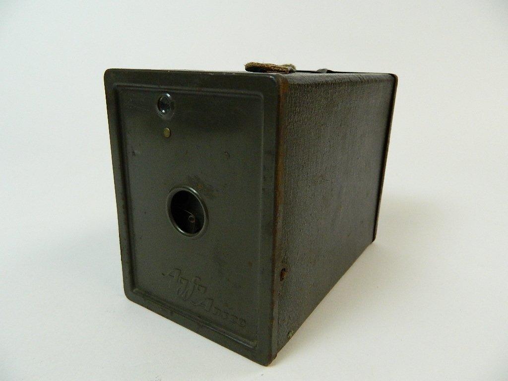 Dark Green Vintage Agfa Ansco Box Camera