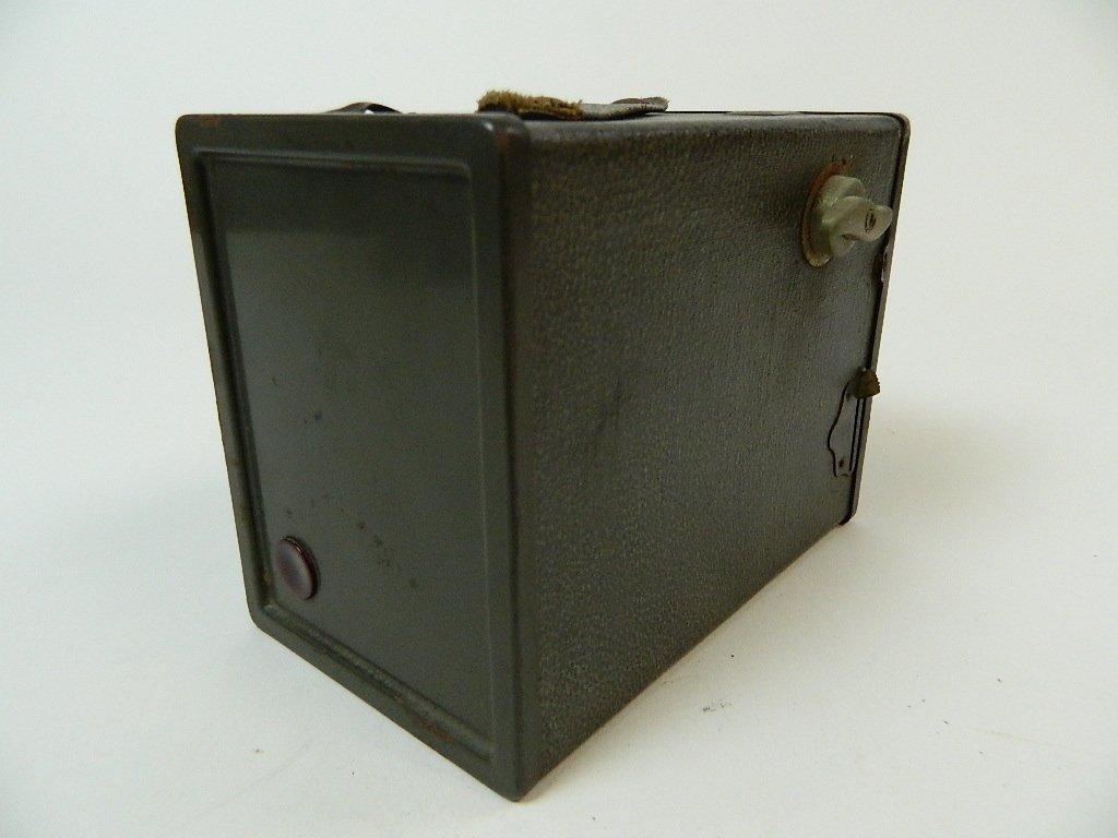 Dark Green Vintage Agfa Ansco Box Camera - 4