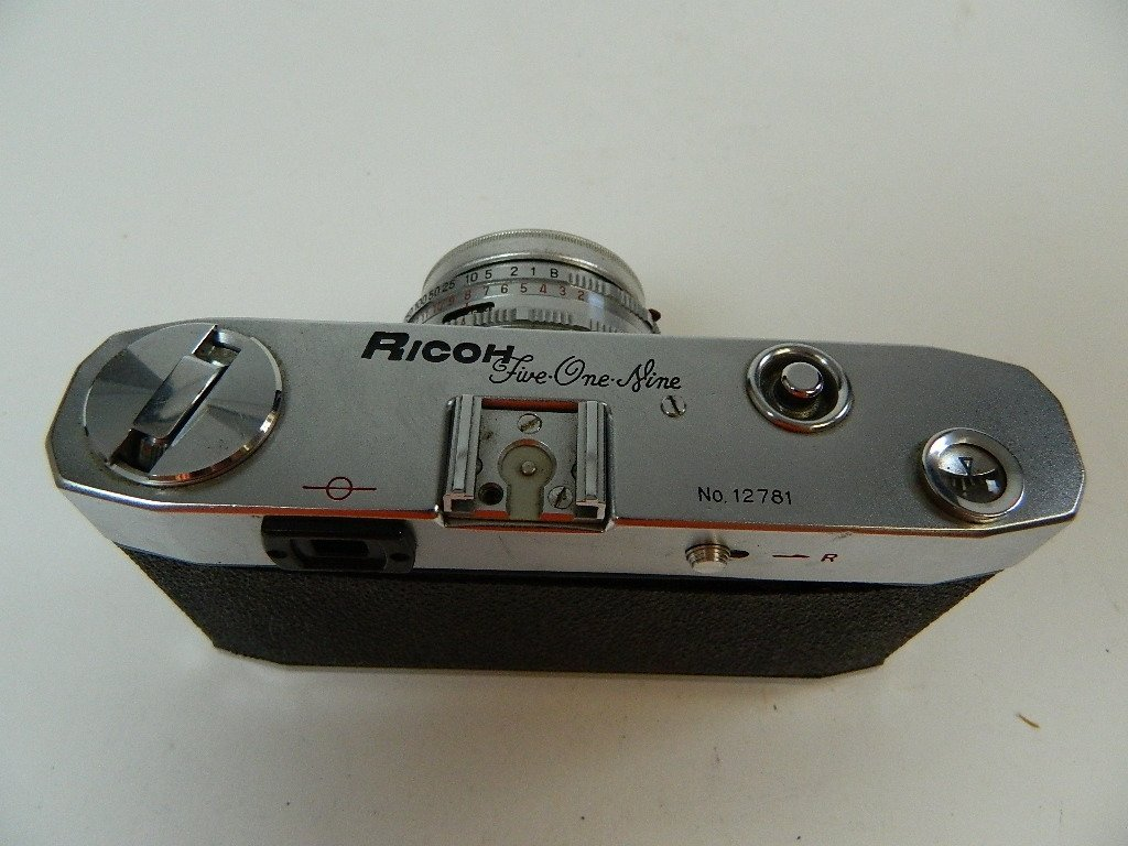Vintage Riken Ricoh Five One Nine (519) Camera - 7