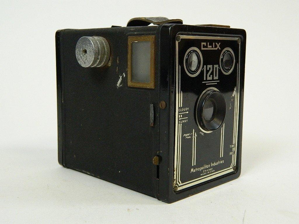 Vintage Clix 120 Box Camera