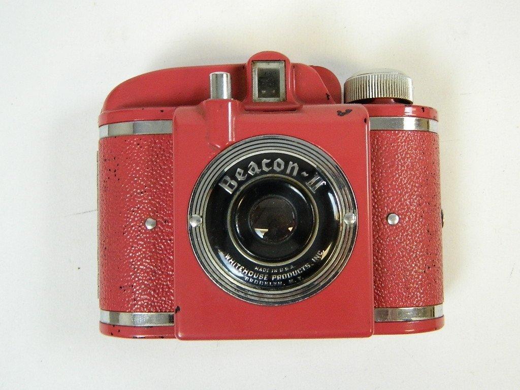 Vintage Rare Red Beacon II Camera