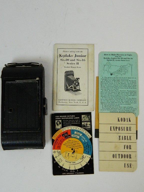 Vintage Kodak Jr. Six-20 Camera
