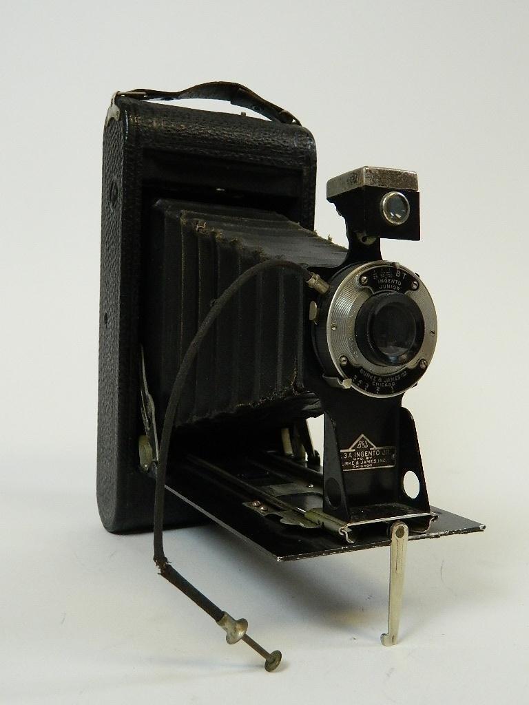 Vintage Burke & James No.3A Ingento Jr. Camera