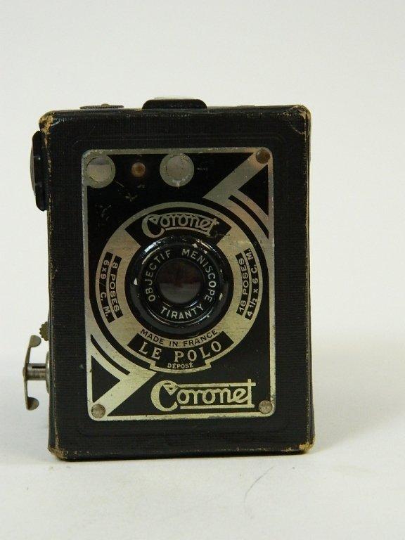 Vintage Coronet Camera Co. Le Polo Camera