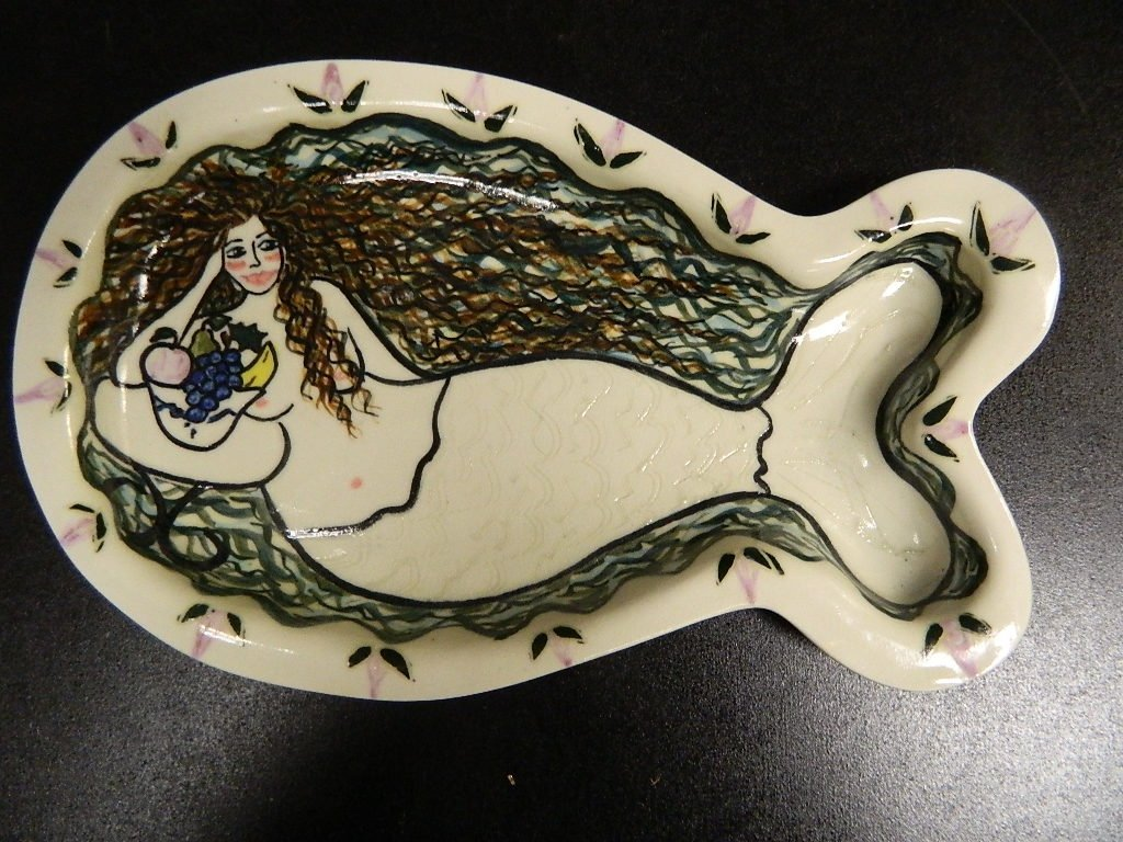 "Lake Michigan Mermaid ""The Whitefish"" Tray"