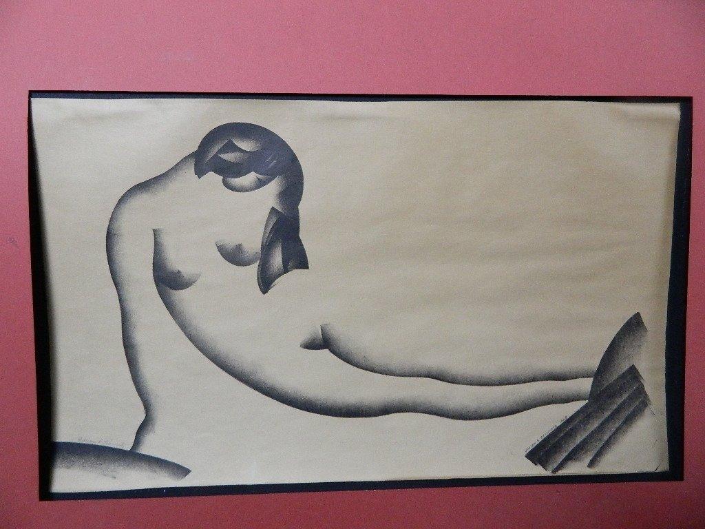 Sketch of a Woman by William S. Schwartz-1928 - 2
