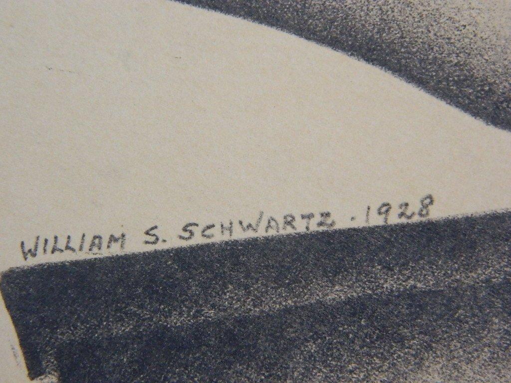 Sketch of a Woman by William S. Schwartz-1928 - 4