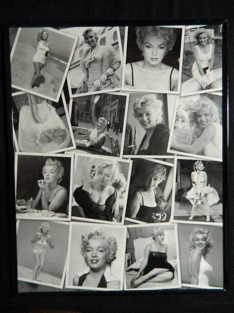"16"" x 20"" Marilyn Monroe Framed Collage Poster"