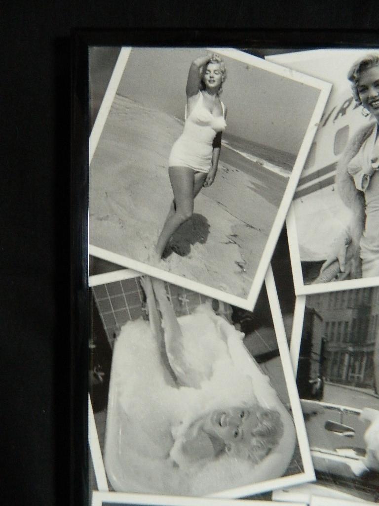 "16"" x 20"" Marilyn Monroe Framed Collage Poster - 3"