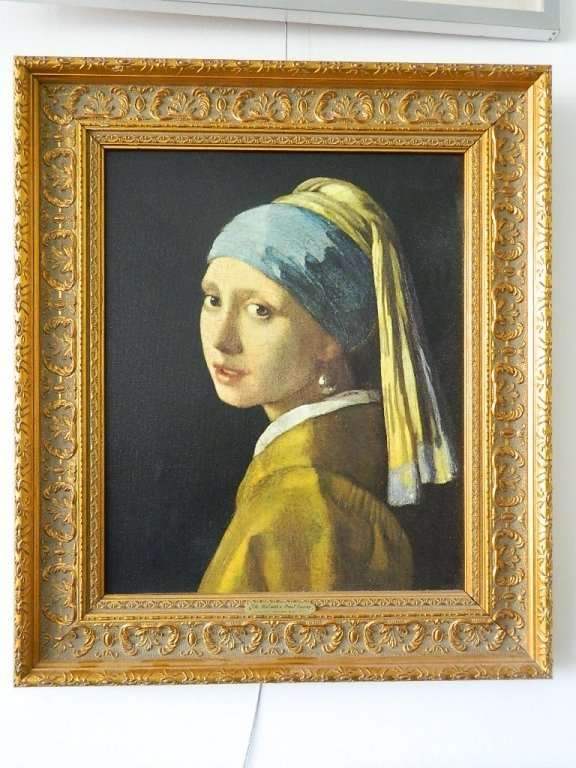 """""""Girl with the Pearl Earring"""" by Johannes Vermeer"""