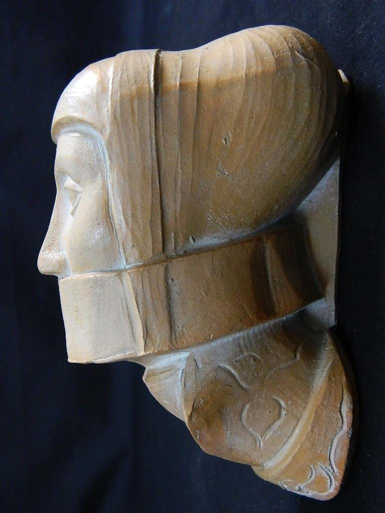 Woman in Bondage Head Sculpture - 2