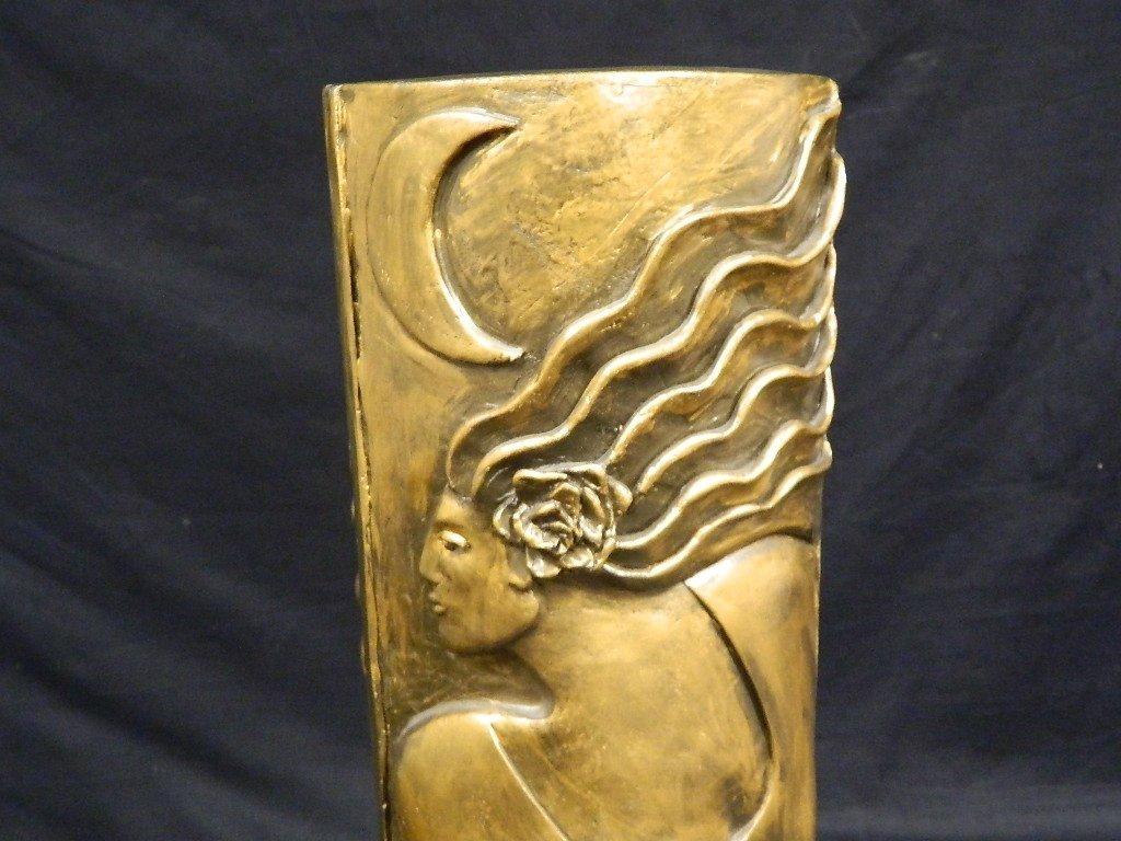 Lauren Grey Female Plaster Statue - 6