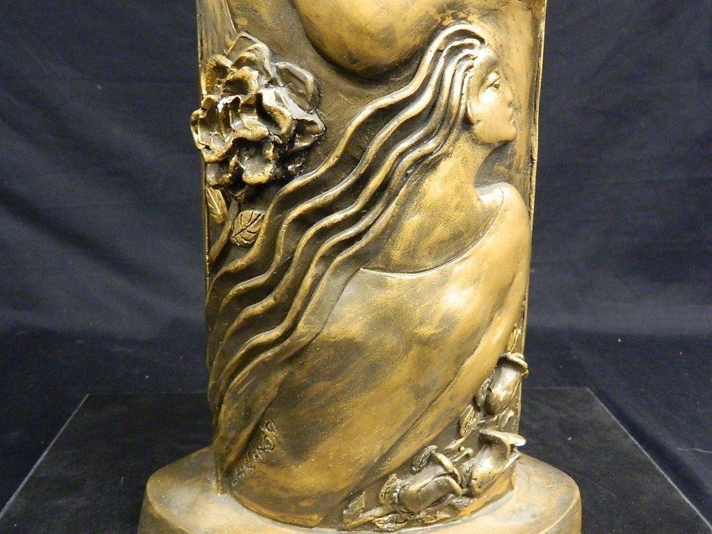 Lauren Grey Female Plaster Statue - 7