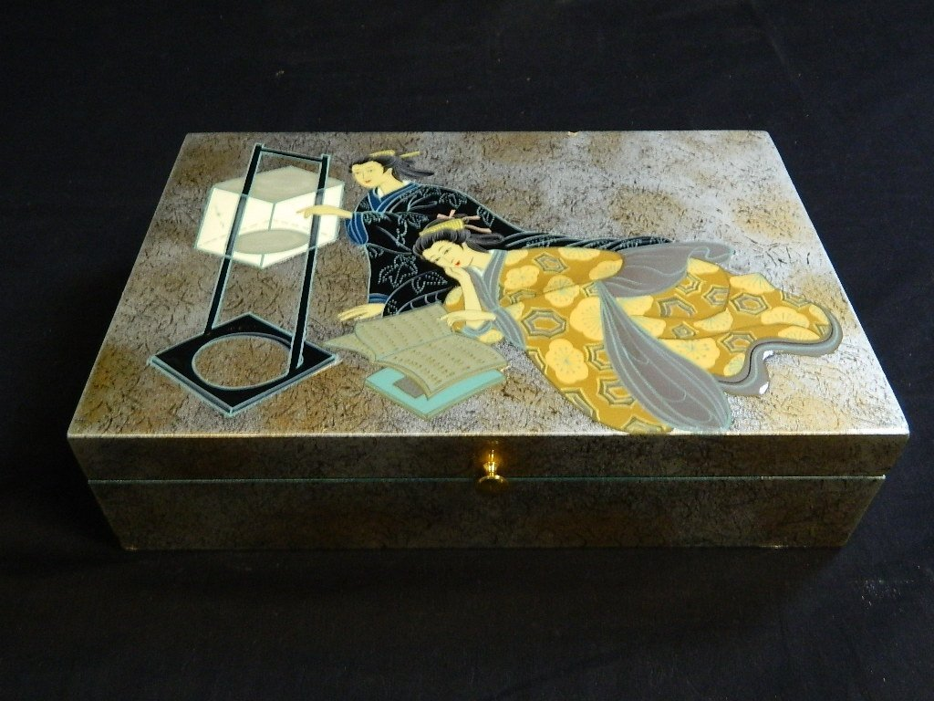 Asian Themed Female Trinket Box - 2