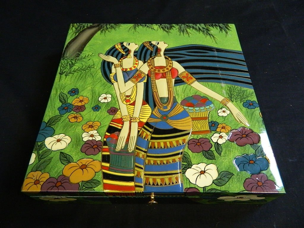 Egyptian Women Themed jewelry trinket box