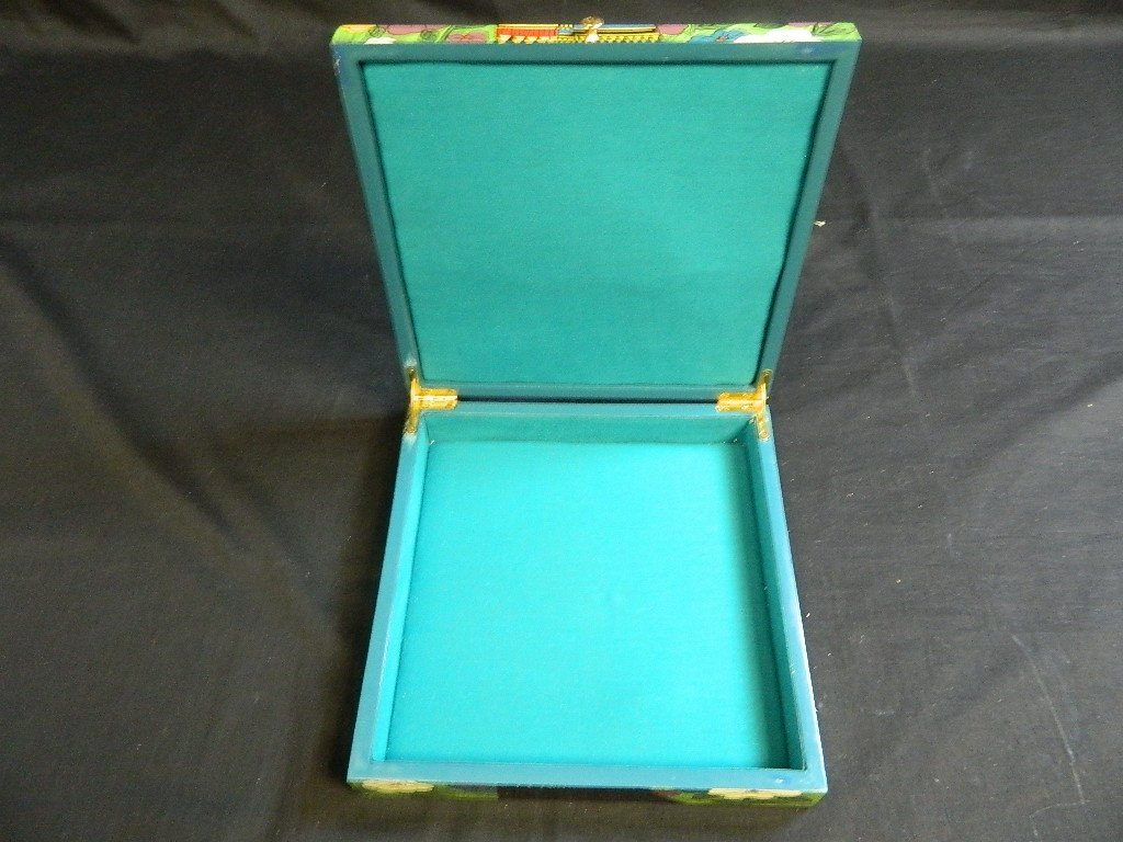 Egyptian Women Themed jewelry trinket box - 4