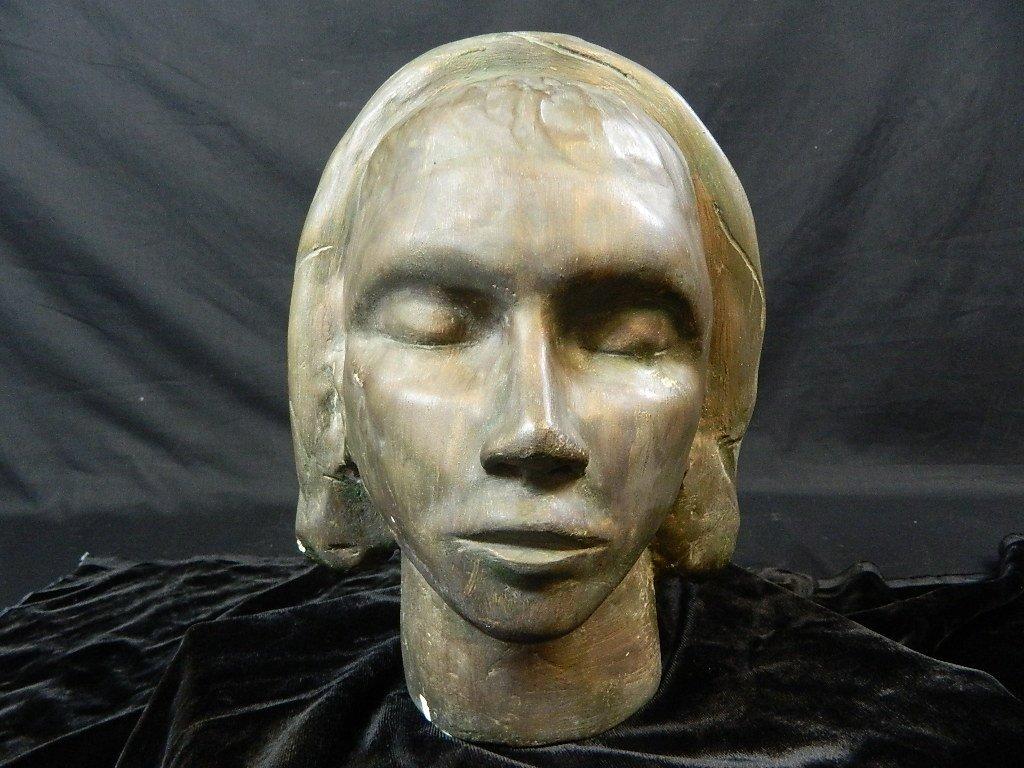 Woman Head/Face Sculpture By Lauren Grey
