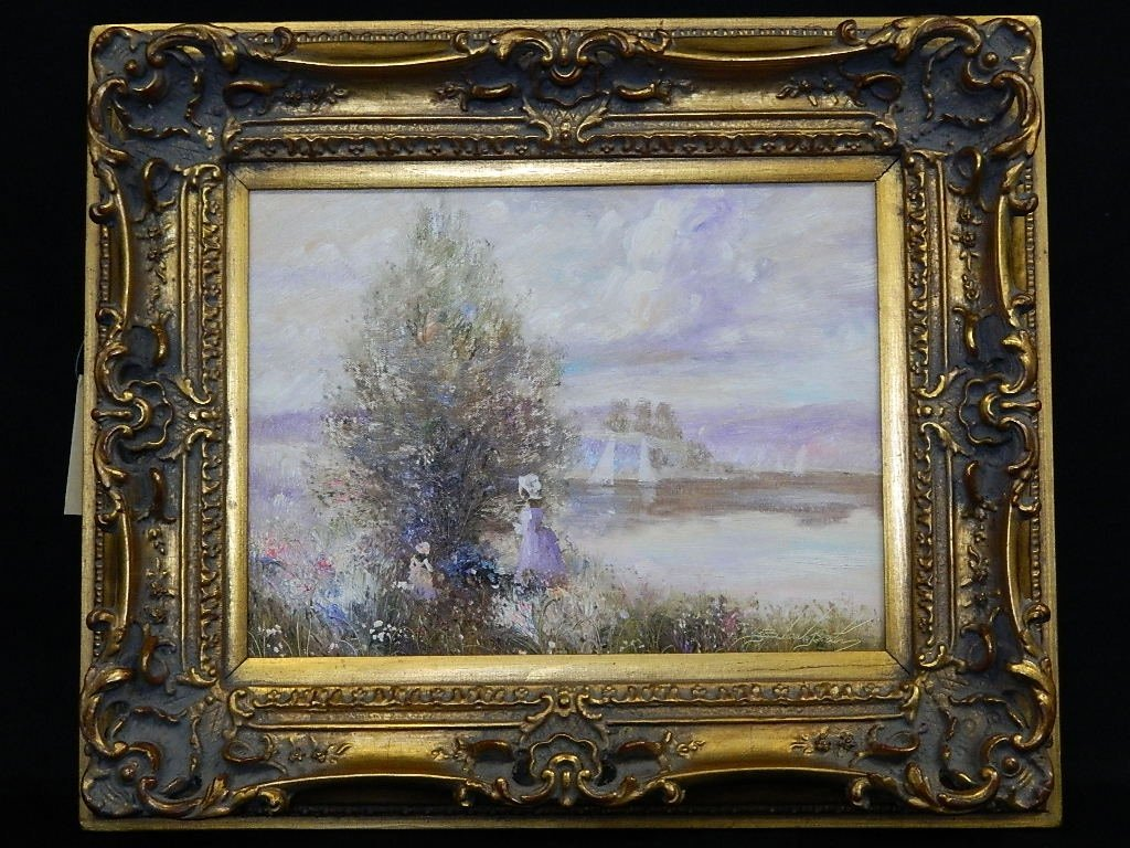 French Impression Oil Painting by Bastin