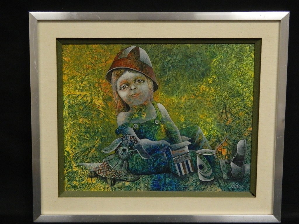 Original Painting by Dan Wuthrich - TO A  TIME BEFORE