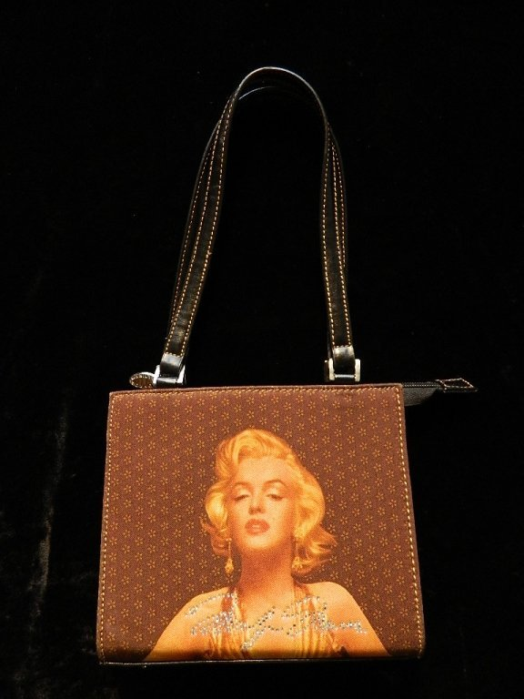 Marilyn Monroe Zippered Signature Handbag